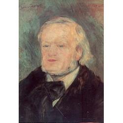 Postkarte Richard Wagner Ölgemälde (1868)