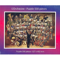 L'orchestre : Puzzle 500 pieces 327 x 462 mm