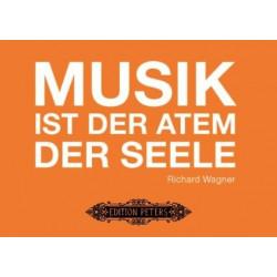 Grußkarte Wagner - Musik ist der Atem der Seele (10 Stk)