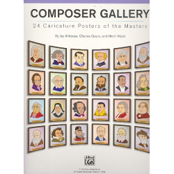 Althouse, Jay: Composer Gallery : 24 Caricature Posters of the Masters