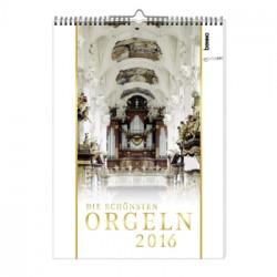 Kalender Die schönsten Orgeln 2016 Monatskalender 30x42cm