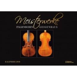 Kalender Meisterwerke des Geigenbaus 2016 Monatskalender 31x44cm