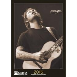Guitar-acoustic-Kalender 2016 Monatskalender 31x44cm