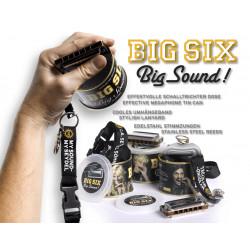 Seydel Big Six - Big Sound! Kleine Blues Harp in C inkl. Schlüsselband in Dose