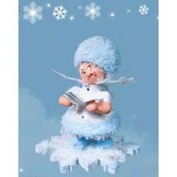 Schneeflöckchen mit Liederbuch