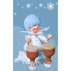 Schneeflöckchen mit Kesselpauke