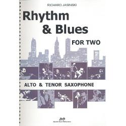 Jasinski, Richard: Rhythm & Blues for two : für 2 Saxophone (AT) Spielpartitur