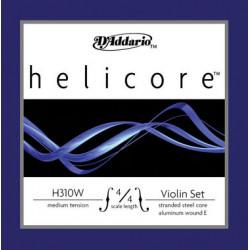 D'Addario Helicore Violinsaiten SATZ 4/4 (E Kugel/Alu) - hart
