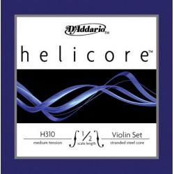 D'Addario Helicore Violinsaiten SATZ 4/4 (E Kugel/Stahl) - weich