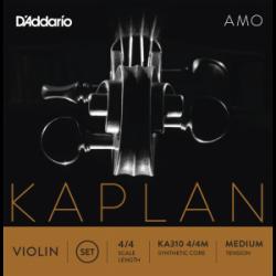 K'Addario Kaplan Amo Violinsaiten SATZ 4/4 - medium