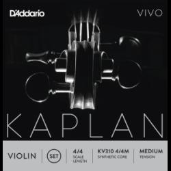 K'Addario Kaplan Vivo Violinsaiten SATZ 4/4 - medium