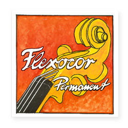 Pirastro Flexocor Permanent Violinsaite G 4/4 (Silber) - mittel