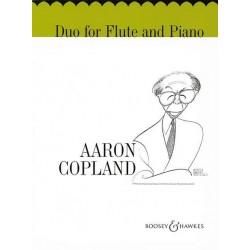 Copland, Aaron Duo Flöte und Klavier