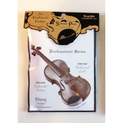 STRAD PAD Kinnhalterpolster standard schwarz Violine/Viola