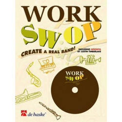 Gorp, Fons van: Work swop: for rhythm section Create a real band
