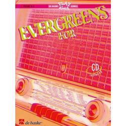 EVERGREENS (+CD): FOR BARITONE OR TROMBONE (BASS- U. VIOLINSCHLUESSEL) MASHIMA, T., BEARB.