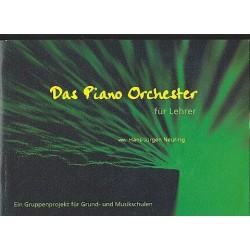 Neuring, Hans-J├╝rgen: Das Piano-Orchester (+CD) : f├╝r 3-5 Sch├╝ler (+Lehrer) an einem Klavier Lehrerband
