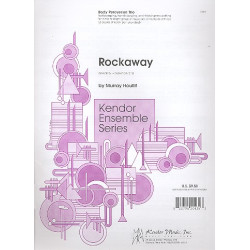 Houllif, Murray: Rockaway : for body percussion trio (3-part ensemble) score and parts