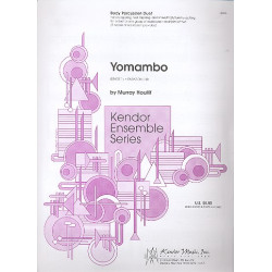 Houllif, Murray: Yomambo : for bodx percussion duet (2-part ensemble) score and parts