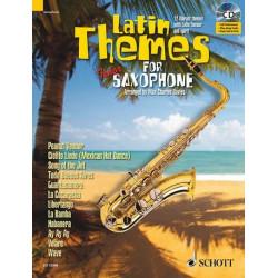 Latin Themes (+CD) : für Tenorsaxophon (Klavierbegleitung als PDF zum Ausdrucken)
