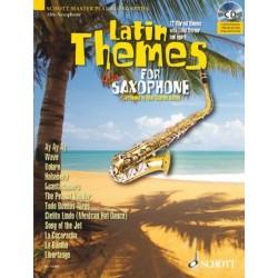 Latin Themes (+CD) : für Altsaxophon (Klavierbegleitung als PDF zum Ausdrucken)