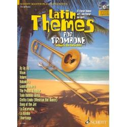 Latin Themes (+CD) : f├╝r Posaune (Klavierbegleitung als PDF zum Ausdrucken)
