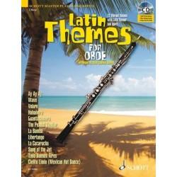 Latin Themes (+CD) : für Oboe (Klavierbegleitung als PDF zum Ausdrucken)