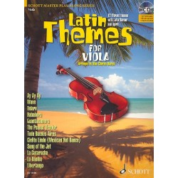 Latin Themes (+CD) : für Viola (Klavierbegleitung als PDF zum Ausdrucken)
