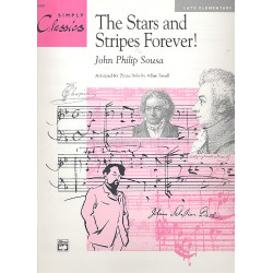 Sousa, John Philip: The Stars and Stripes forever (Theme): for easy piano