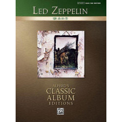 Led Zeppelin vol.4 Songbook vocal/bass/tab Authentic bass tab edition