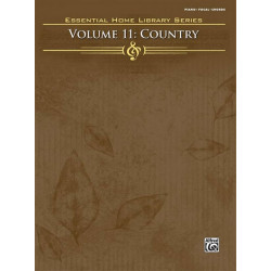 Essential Home Library vol.11 : Country songbook piano/vocal/guitar
