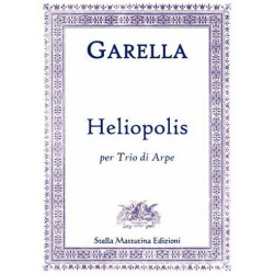Garella, Daniele: Heliopolis for 3 harps score