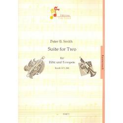 Smith, Peter Bernard: Suite for two SmithWV360 : für Flöte und Trompete Partitur und Stimmen