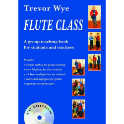 Wye, Trevor: Flute Class (+CD) with easy piano part