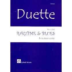 Schell, Felix: Ragtime & Blues : für 2 B-Instrumente Spielpartitur