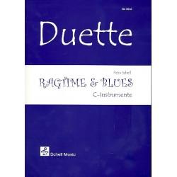 Schell, Felix: Ragtime & Blues : für 2 C-Instrumente Spielpartitur
