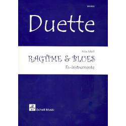 Schell, Felix: Ragtime & Blues : für 2 Es-Instrumente Spielpartitur
