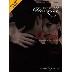 Piazzolla, Astor: El Viaje : für Klavier