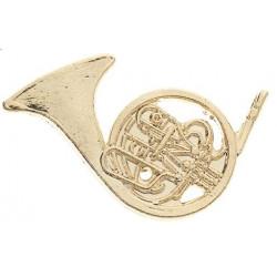 Anstecknadel Horn