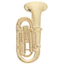 Anstecknadel Tuba