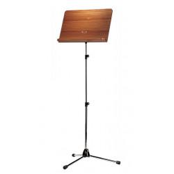 K&M 118/4 Orchesternotenpult extra lang, vernickelt