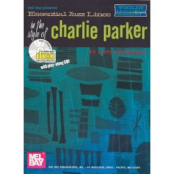 Christiansen, Corey: Essential Jazz Lines in the Style of Charlie Parker (+CD) : for violin