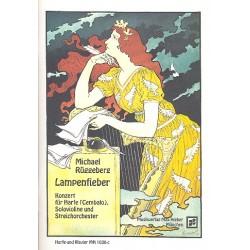 Rüggeberg, Michael: Lampenfieber für Harfe (Cembalo), Violine und Orchester : für Harfe, Violine und Klavier
