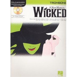 Schwartz, Stephen: Wicked (+CD) : for trombone