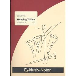 Joplin, Scott: Weeping Willow : für 4 Saxophone (SATBar) Partitur und Stimmen