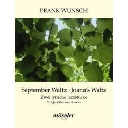 Wunsch, Frank: 2 lyrische Jazzstücke : für Flöte und Klavier