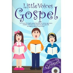 Little Voices - Gospel (+CD) : for young chorus and piano score