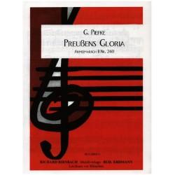 Piefke, Gottfried: Preußens Gloria: für Klavier Archivkopie