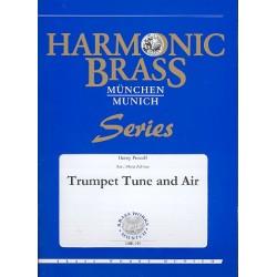 Purcell, Henry: Trumpet Tune and Air : für 2 Trompeten, Horn, Posaune, Tuba und Orgel Stimmen