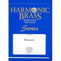 Strauss, Richard: Heaven : für 2 Trompeten, Horn, Posaune, Tuba und Orgel Stimmen
